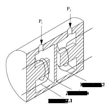 Пример индуктивного датчика давления